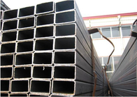 Flexible Construction Aluminum Extruded Tubes Round / Square / Rectangular Shaped