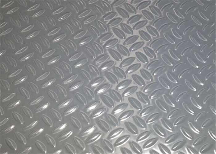 Custom Color Embossed Aluminum Sheet H14 H24 H18 H112 For Wall Decoration