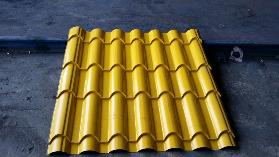 west africa popular aluminum roofing sheet color coated 900mm width 1240mm feeding width