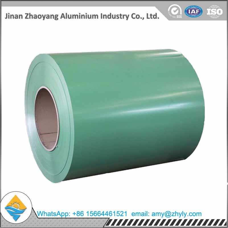 3003 0.5mm 0.8mm Color Coated Aluminium Sheet Coil For Sandwich Panel ASTM Standard