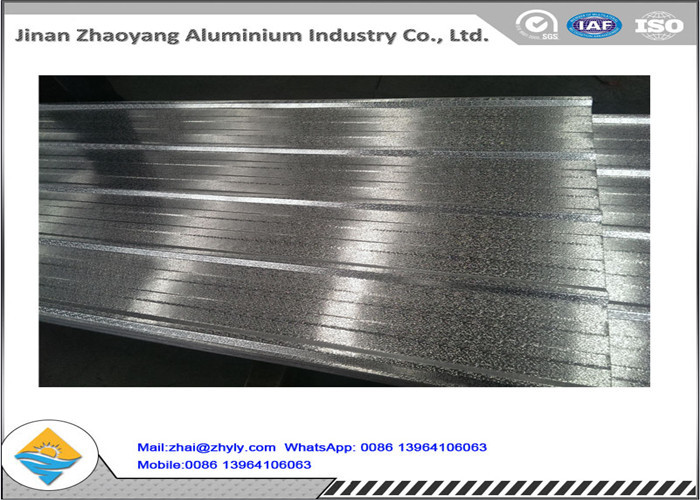 Anti - Earthquake 1060 Corrugated Aluminum Sheet High Mechanical Properties